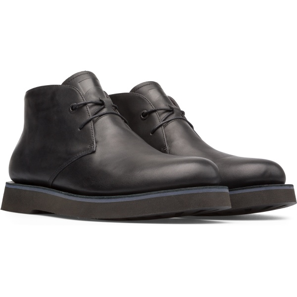 Camper Tyre Black Formal Shoes Men K300242-002