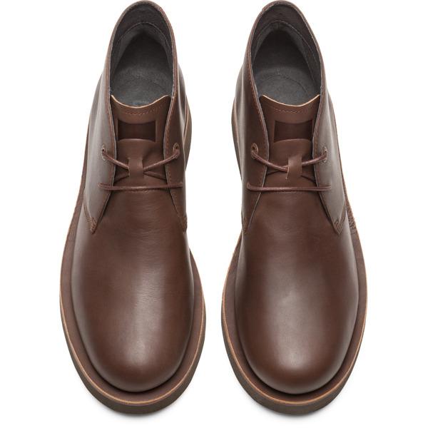 Camper Tyre Brown Formal Shoes Men K300242-004