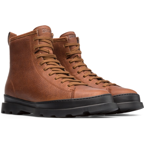 Camper Brutus Brown Casual Shoes Men K300245-003