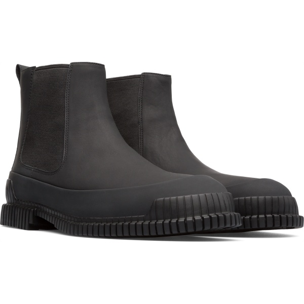 Camper Pix Black Ankle Boots Men K300252-005