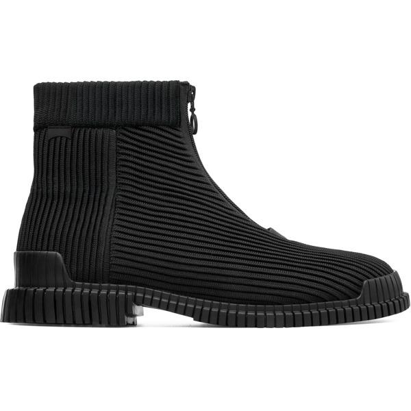 Camper Pix Black Ankle Boots Men K300262-001
