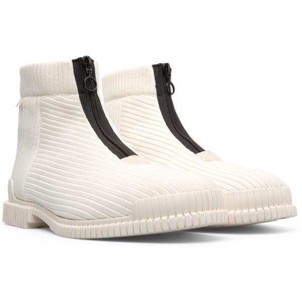 Camper Pix Beige Ankle Boots Men K300262-002