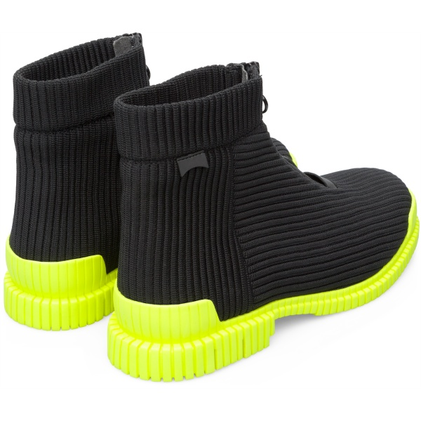 Camper Pix Black Ankle Boots Men K300262-003