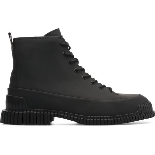 Camper Pix Black Ankle Boots Men K300277-004
