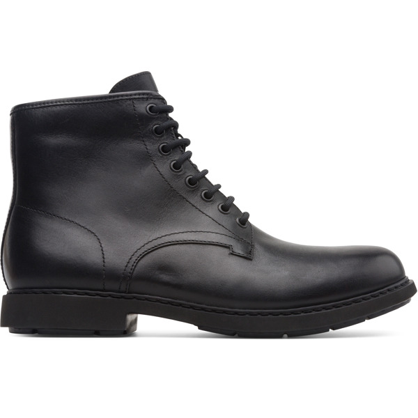 Camper Neuman Black Ankle Boots Men K300284-001