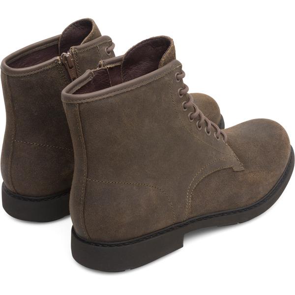 Camper Neuman Brown Gray Ankle Boots Men K300284-002