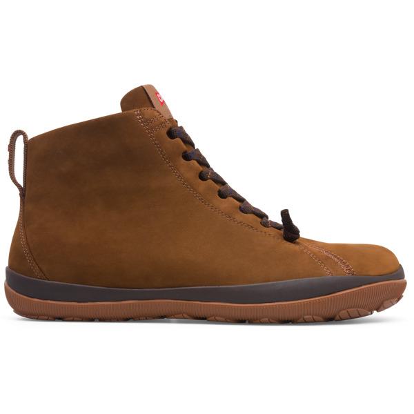 Camper Peu Pista Brown Ankle Boots Men K300287-004