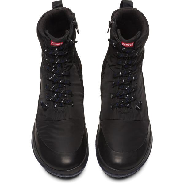 Camper Peu Pista Black Ankle Boots Men K300288-001