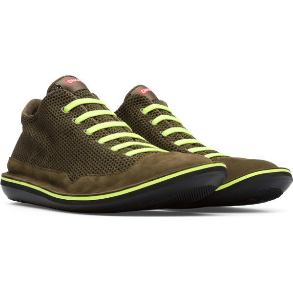 Camper Beetle Green Casual Shoes Men K300327-002