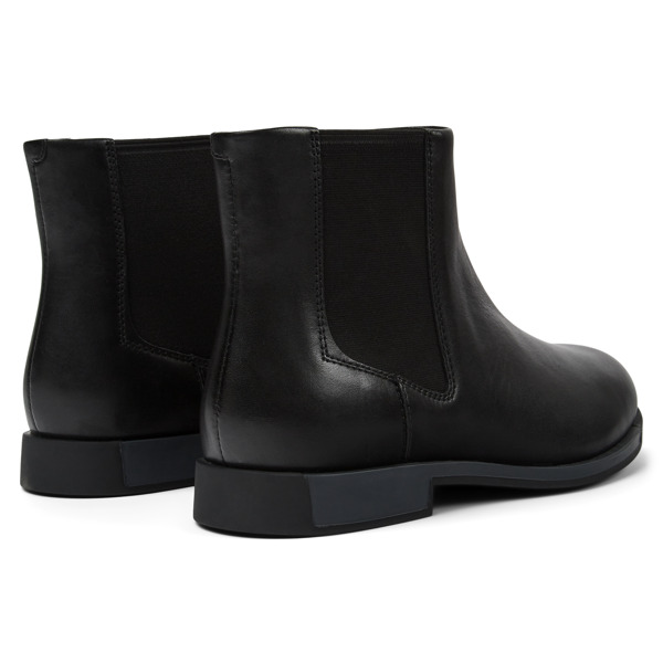 Camper Bowie Black Ankle Boots Women K400023-001