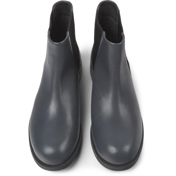 Camper Bowie Grey Ankle Boots Women K400023-009