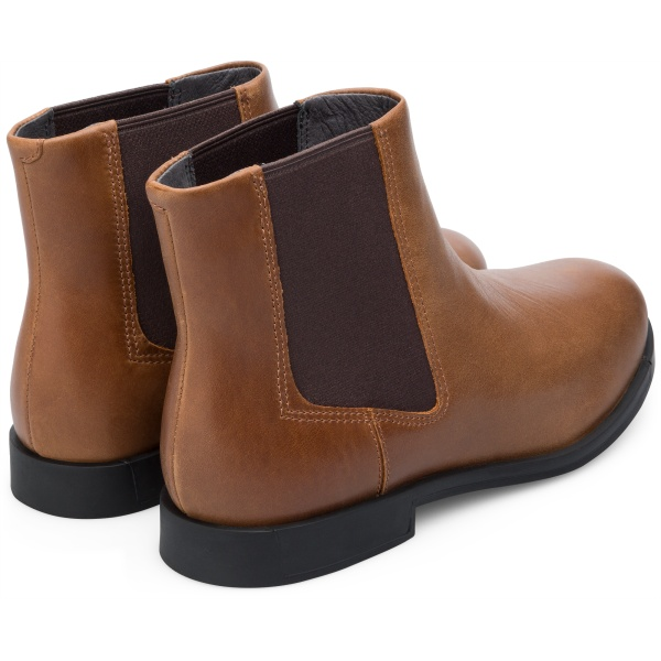 Camper Bowie Brown Ankle Boots Women K400023-010