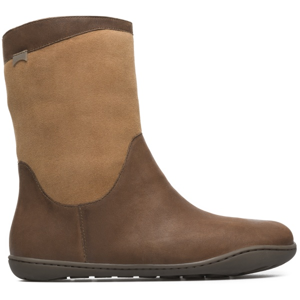 Camper Peu Brown Ankle Boots Women K400048-005