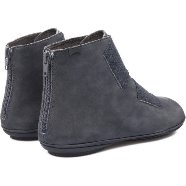 Camper Right Blue Ankle Boots Women K400051-001