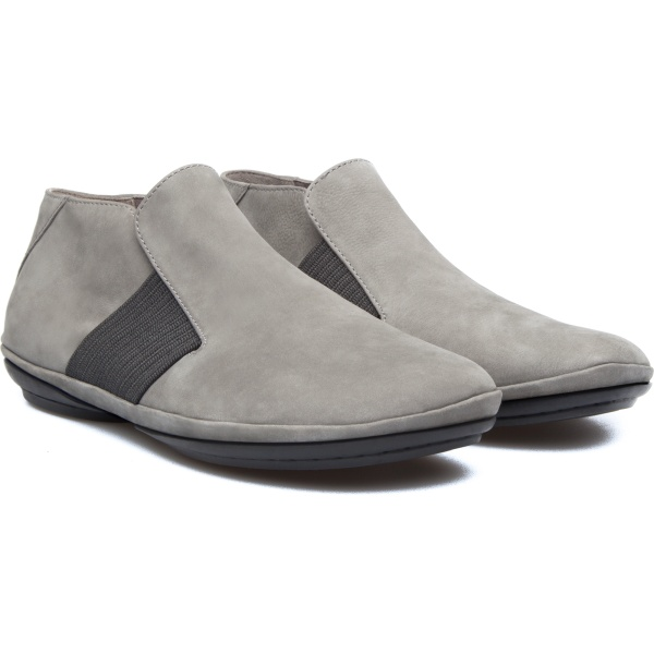 Camper Right Grey Ankle Boots Women K400084-003