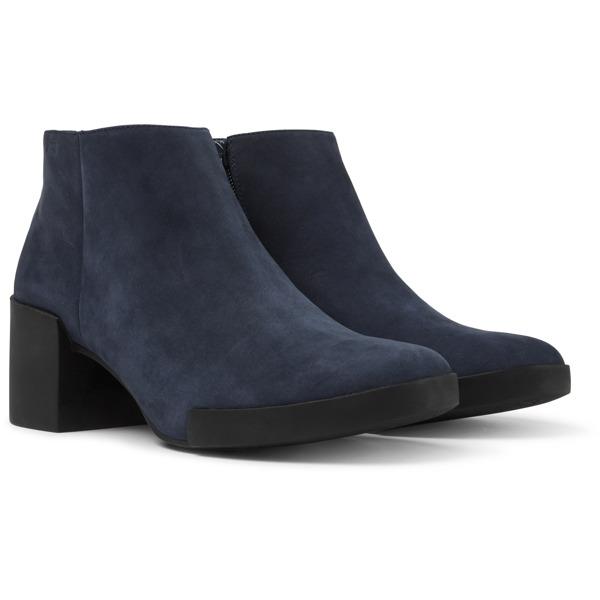 Camper Lotta Blue Ankle Boots Women K400145-004