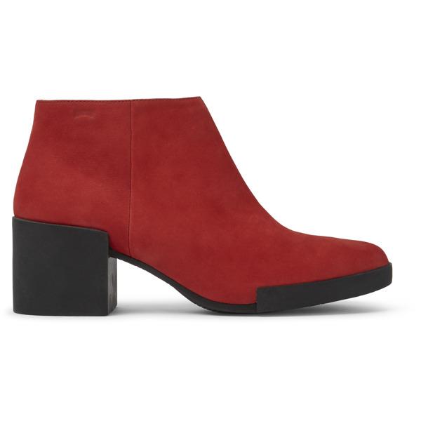 Camper Lotta Red Ankle Boots Women K400145-009