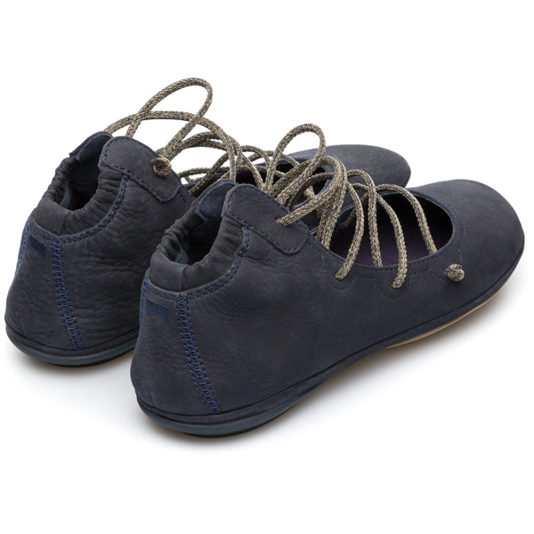 Camper Right Blue Ballerinas Women K400194-008