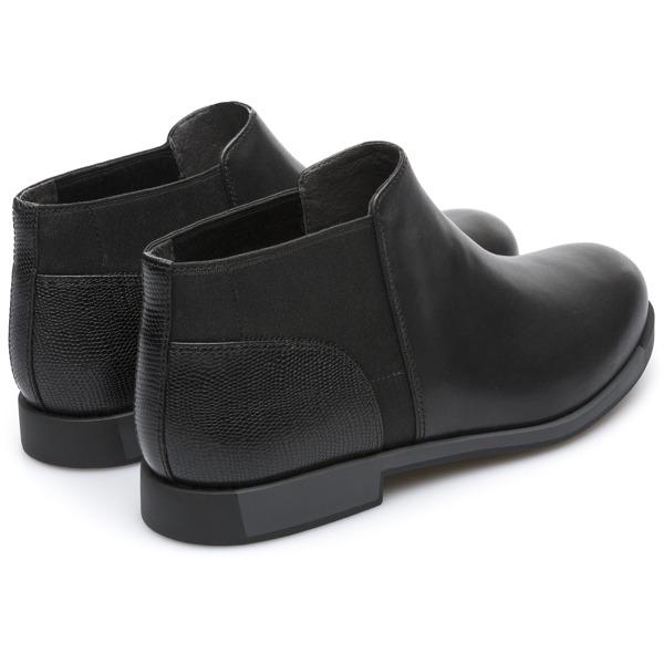 Camper Bowie Black Ankle Boots Women K400199-002