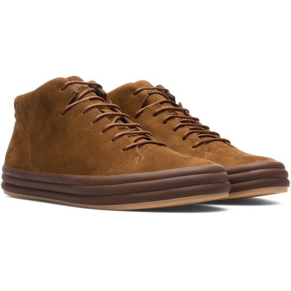 Camper Hoops Brown Sneakers Women K400206-007