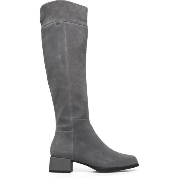 Camper Kobo Grey Ankle Boots Women K400213-002