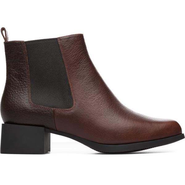 Camper Kobo Brown Ankle Boots Women K400214-001