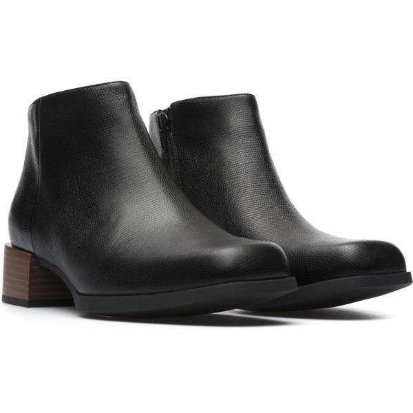 Camper Kobo Black Ankle Boots Women K400215-001