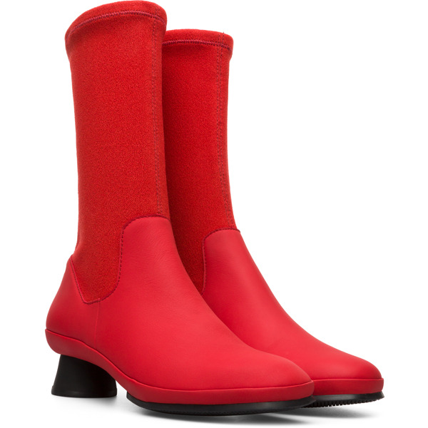 Camper Alright Red Boots Women K400217-008