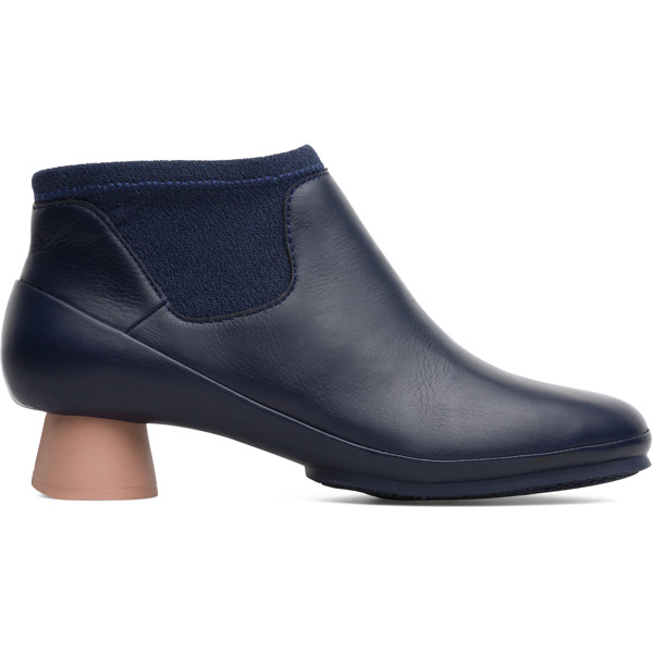 Camper Alright Blue Ankle Boots Women K400218-011