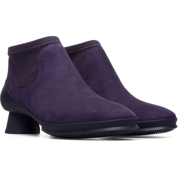 Camper Alright Purple Ankle Boots Women K400218-016