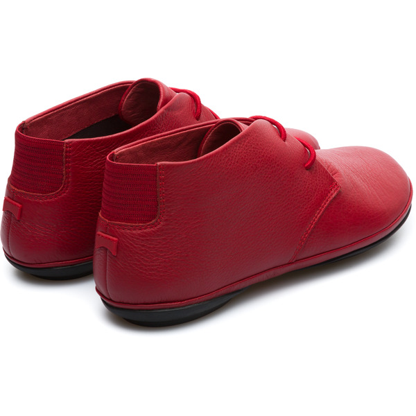 Camper Right Red Ankle Boots Women K400221-006