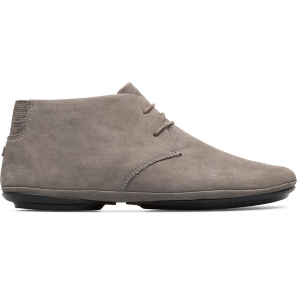 Camper Right Grey Ankle Boots Women K400221-012