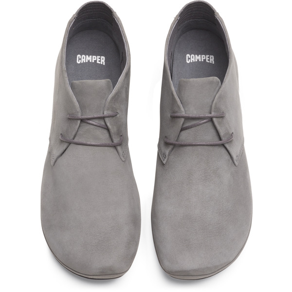 Camper Right Grey Ankle Boots Women K400221-013