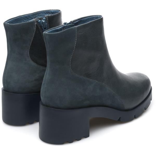 Camper Wanda Blue Ankle Boots Women K400228-001