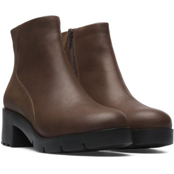 Camper Wanda Brown Ankle Boots Women K400228-003