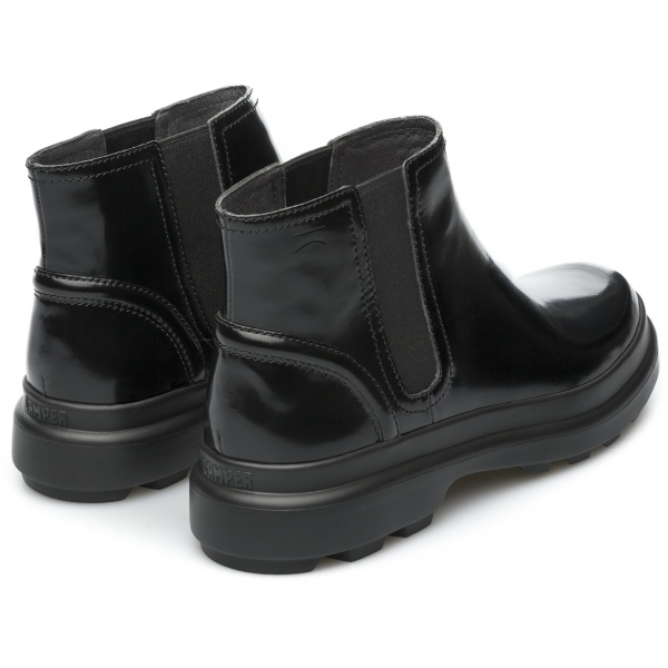 Camper Turtle Black Ankle Boots Women K400237-001