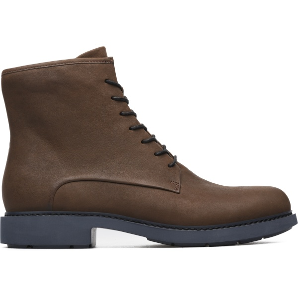 Camper Neuman Brown Ankle Boots Women K400245-001