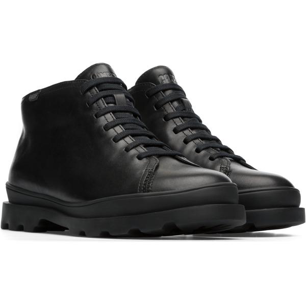 Camper Brutus Black Ankle Boots Women K400266-001