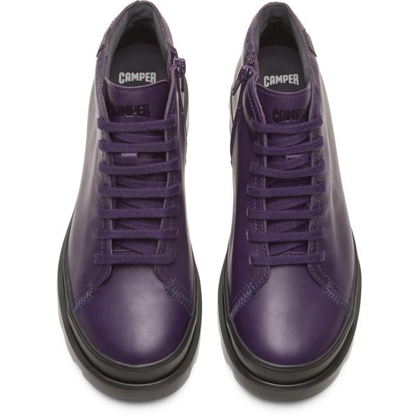 Camper Brutus Purple Ankle Boots Women K400266-004