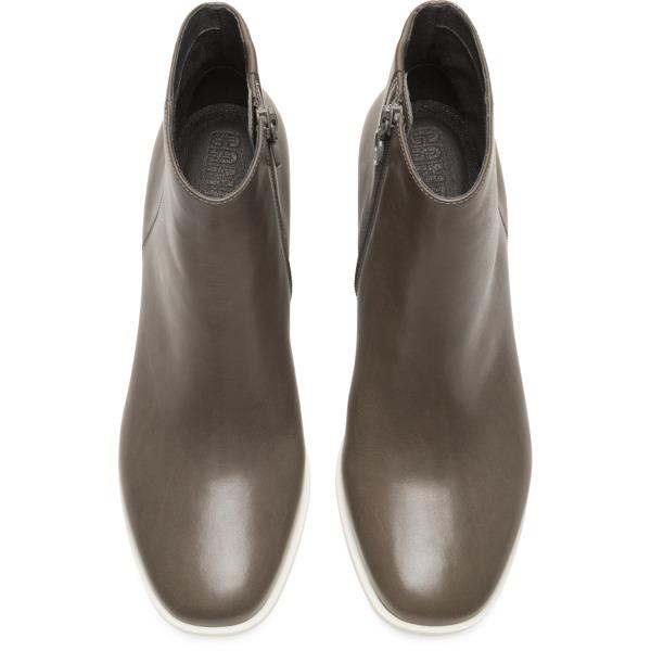 Camper Brooke Grey Ankle Boots Women K400268-006