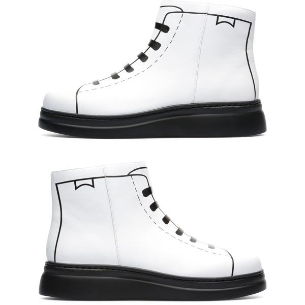 Camper Twins White Sneakers Women K400276-001