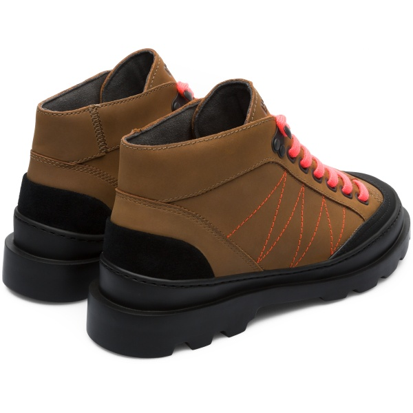 Camper Brutus Brown Casual Shoes Women K400287-002