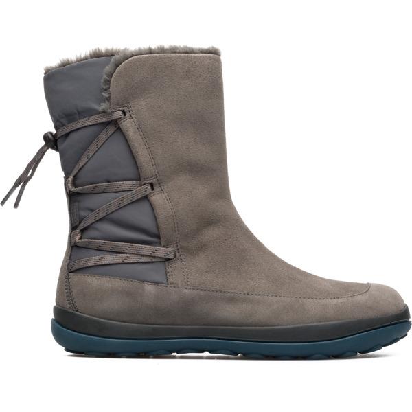 Camper Peu Pista Grey Boots Women K400298-002