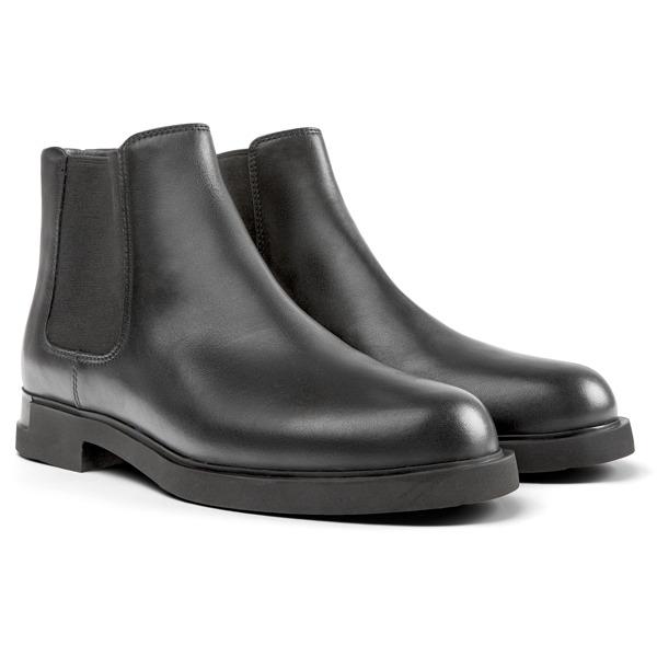 Camper Iman Black Ankle Boots Women K400299-001