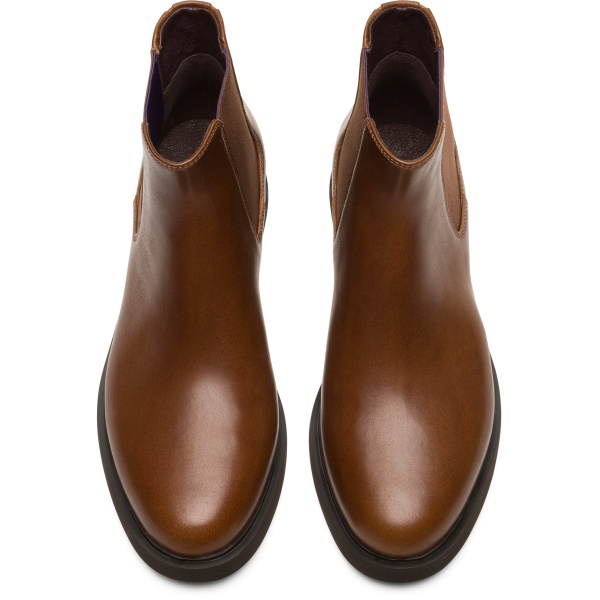 Camper Iman Brown Ankle Boots Women K400299-008