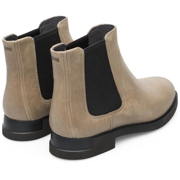 Camper Iman Grey Ankle Boots Women K400299-009