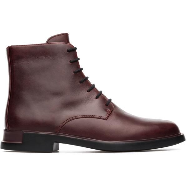 Camper Iman Burgundy Ankle Boots Women K400300-004