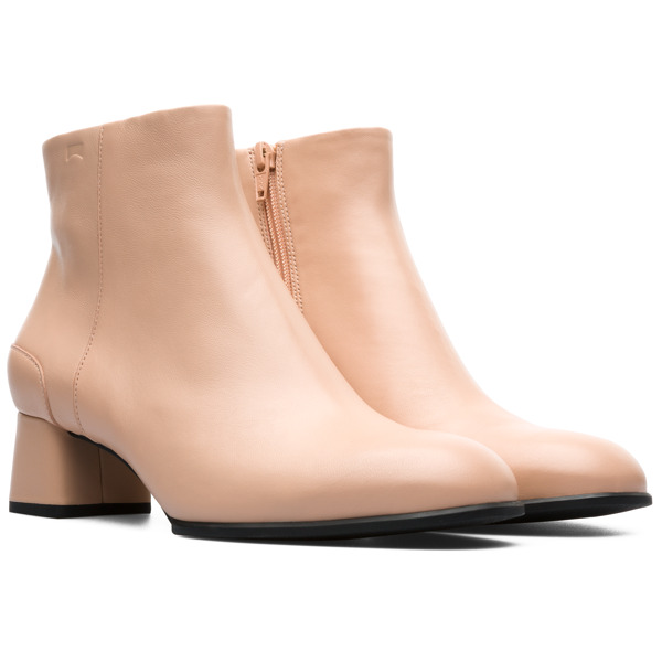 Camper Katie Nude Ankle Boots Women K400311-003