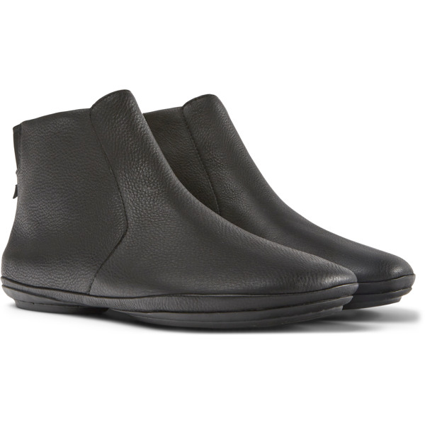 Camper Right Black Ankle Boots Women K400313-002