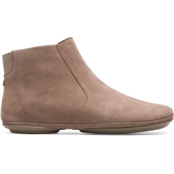 Camper Right Grey Ankle Boots Women K400313-005